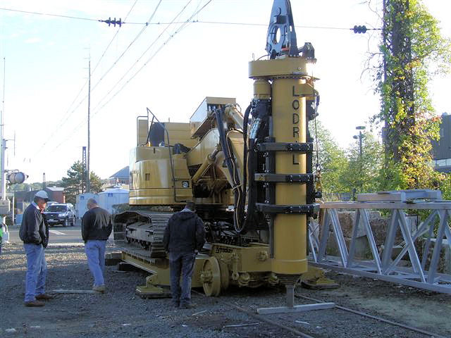Cat 321 and Lo Drill