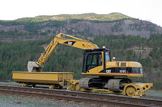 Railway maintenance equipment